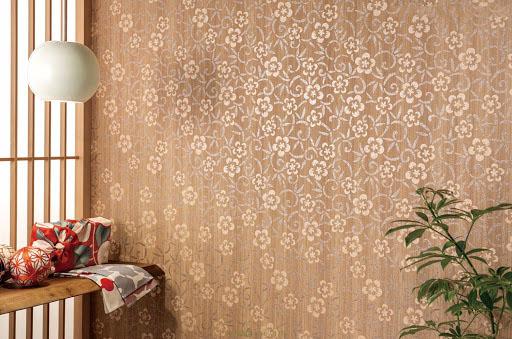 Giấy dán tường phong cách Nhật Bản