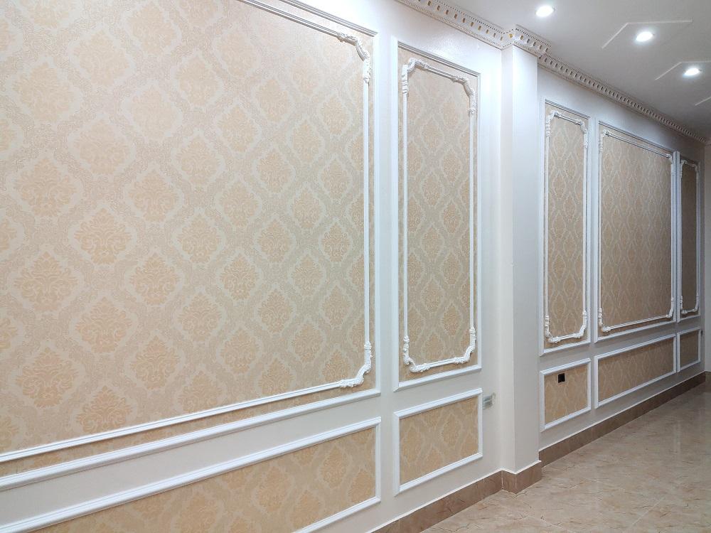 Giấy dán tường giúp không gian sang trọng và đẳng cấp hơn