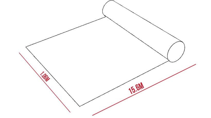 Kích thước giấy dán tường Hàn Quốc